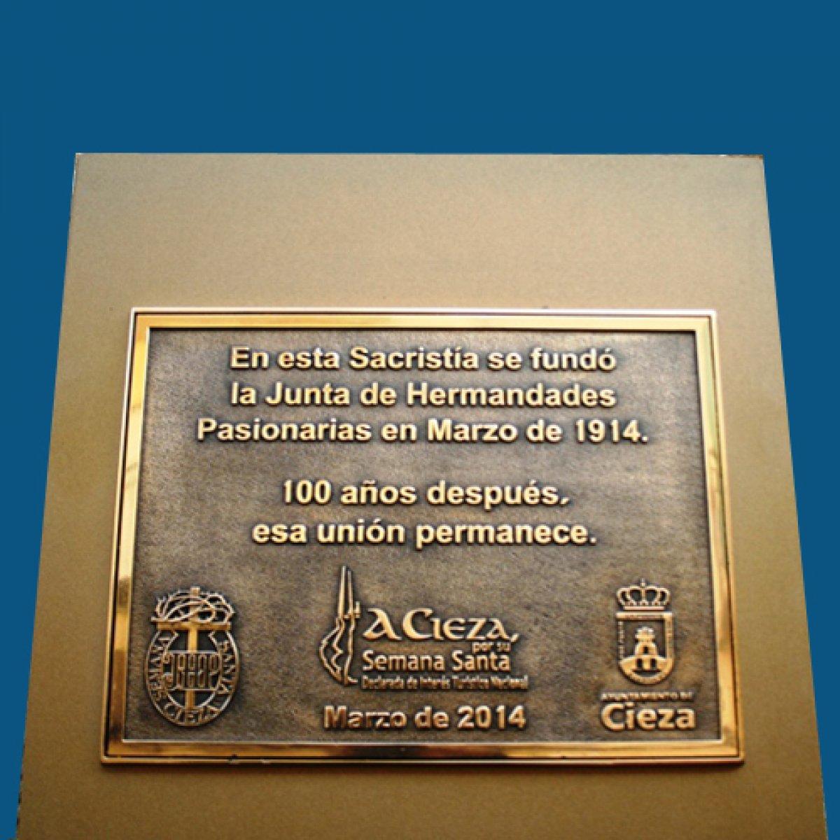 Placa Centenario