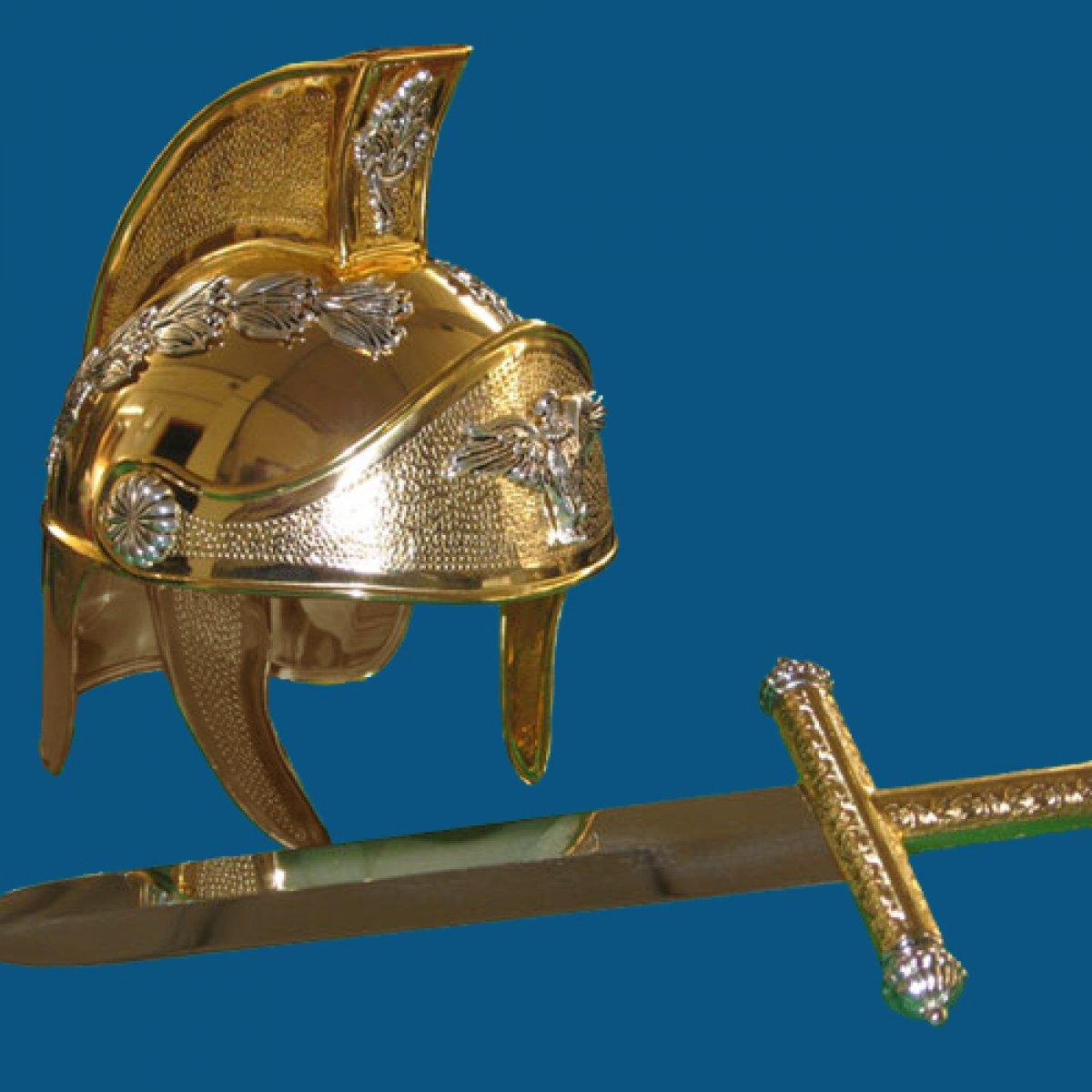 Casco Oro 4
